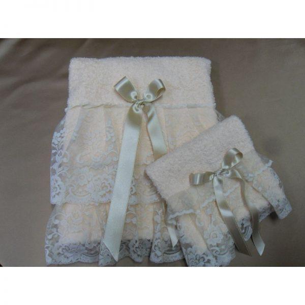Asciugamano spugna rosa