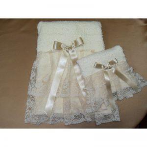 Asciugamano spugna ecru