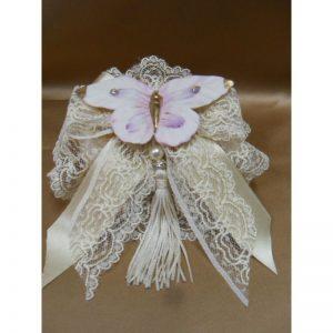 Saponetta decorata farfalla